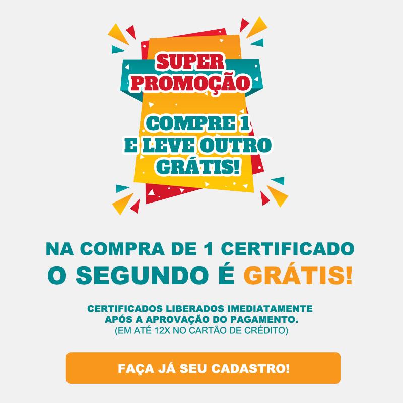 Cursos online grátis com certificado!