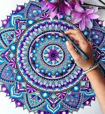 Curso online grátis de Desenhos e Pinturas de Mandalas