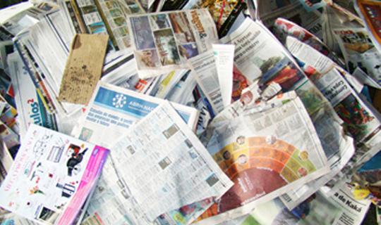 Curso online grátis de Reciclagem em Papel
